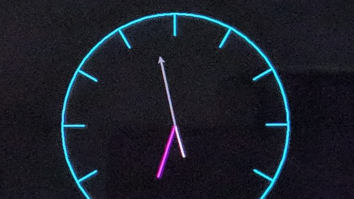 Real time Analog Clock in BananaPi